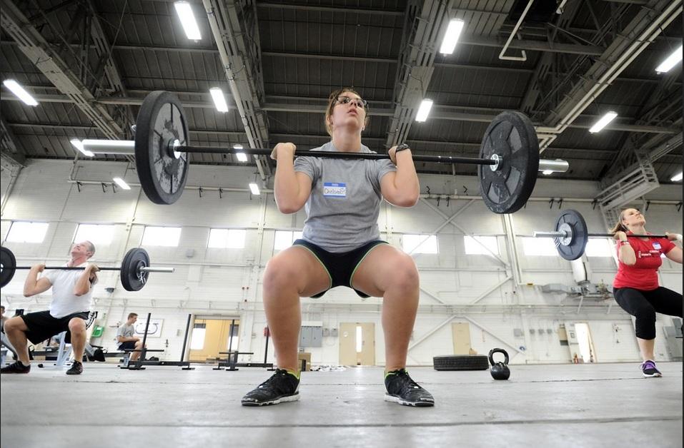 Esercizio di squat